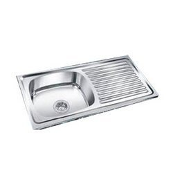 Single Bowl With Drain Board Sink