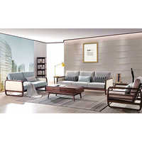 2 Seater-3 Seater Sofa Set with Coffee Table