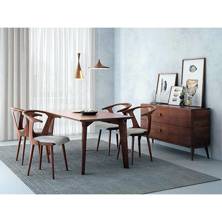WOODEN DINING TABLE WITH CHAIR