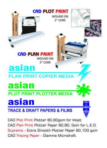 CAD PLOTTER PAPER