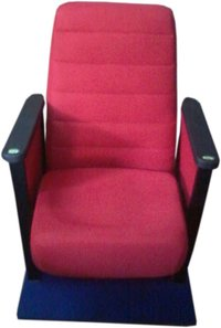 Red Color Theatre Chair