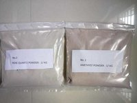 high quality amethyst and rose quartz powder
