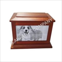 Solid Wood Pet Urn Box