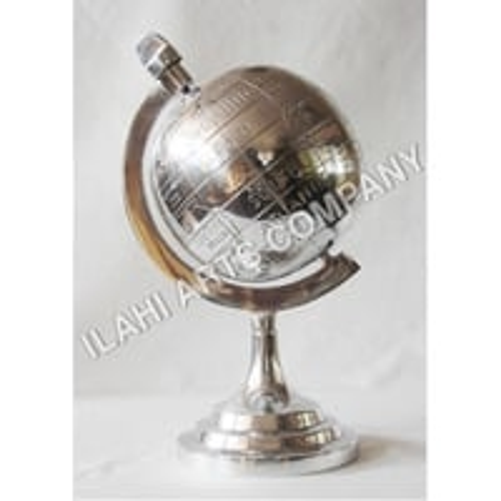 Aluminum World Globe