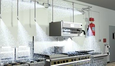 Kitchen Fire Suppression Systems (K-Foam Technology)
