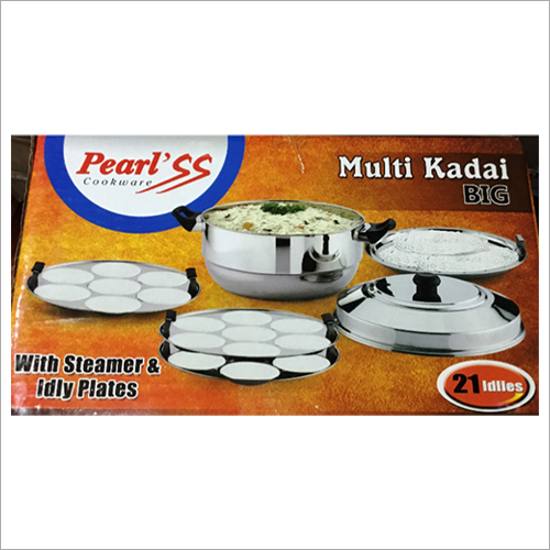 Stainless Steels Bottom Multi Kadai