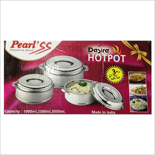 Pearl 3PC Hot Pot Casserole Set