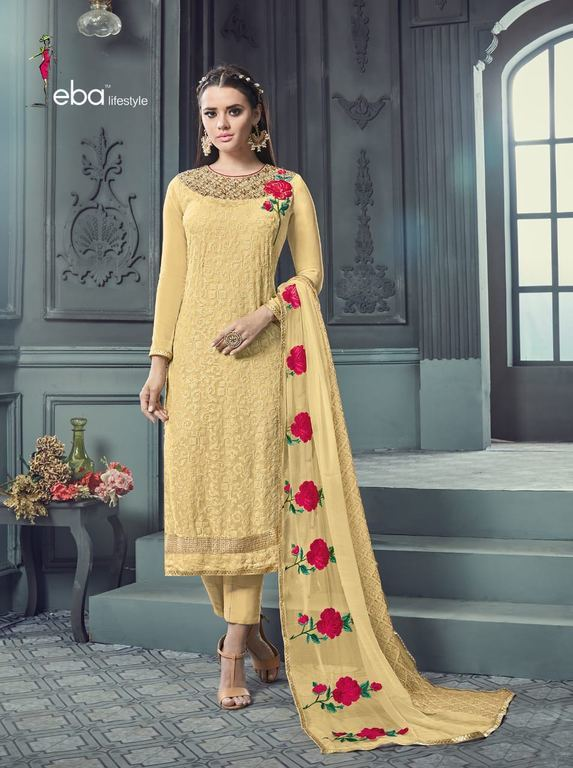 Embroidered Georgette Suits