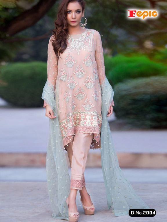 Luxury Art Georgette Suits