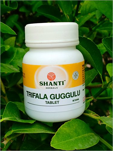 Trifala Guggulu Tablet Age Group: For Adults