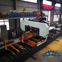Light Hydraulic Horizontal Band Saw with Electric Motor
