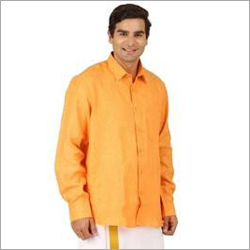 Mens Linen Mango Shirt