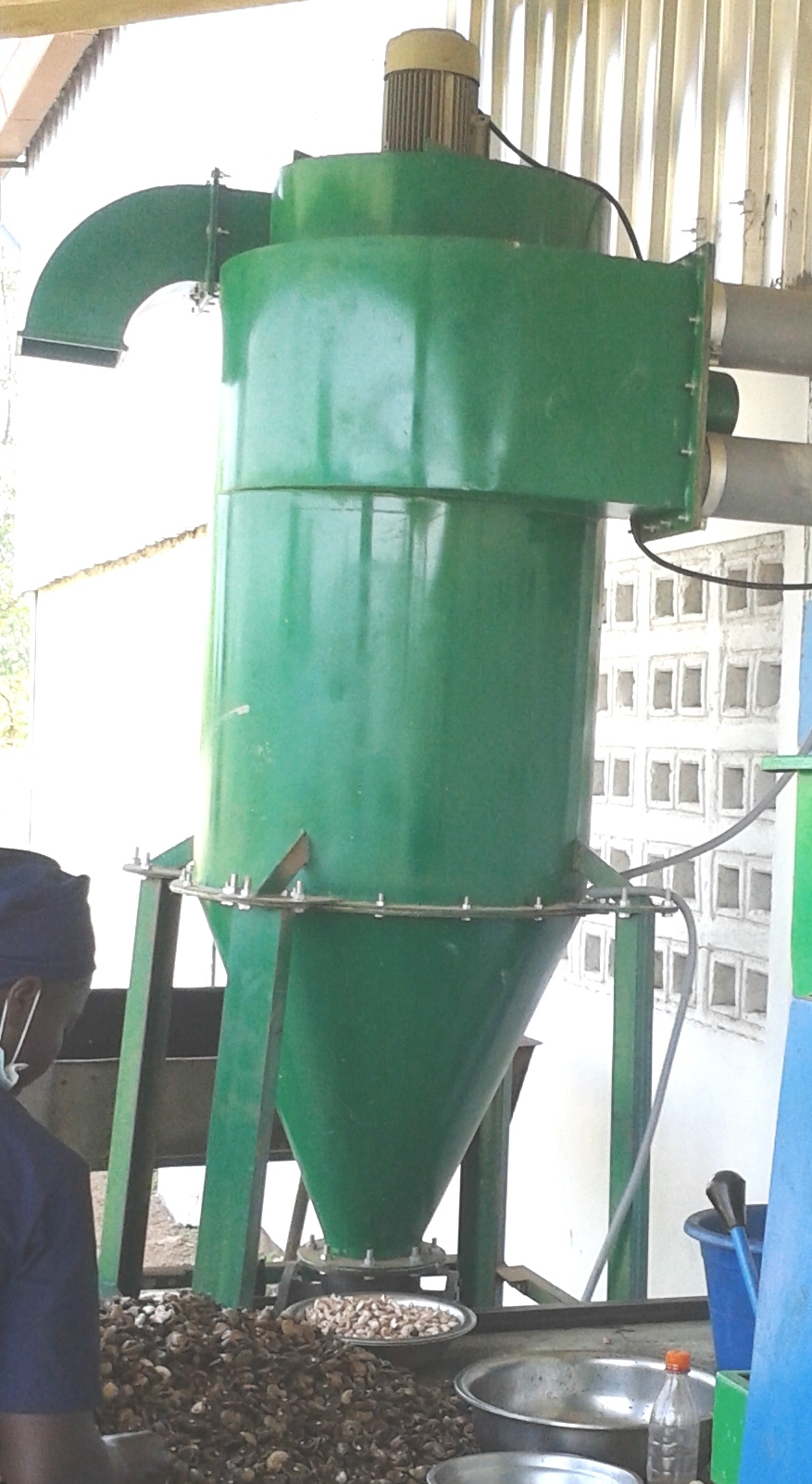 Cyclone Type Dust Collector Manufacturer Supplier In