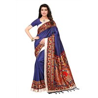 Latest Digital Printed Mysore Silk Saree
