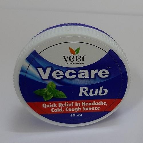 Ayurvedic Cold Vecare Rub Balm