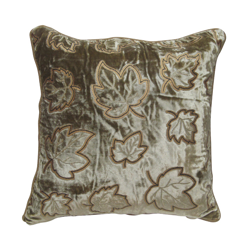Aarna Leaf Cotton Cushion Cover
