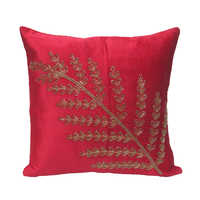Antique Leaf Cushion Cover