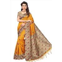 Stylish Party Wear Mysore Silk Saree