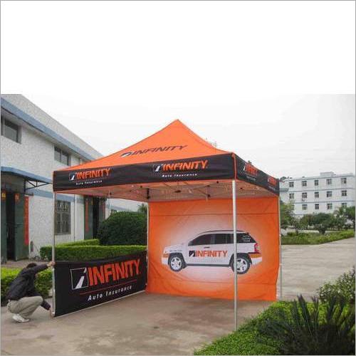 Advertising Display Tent