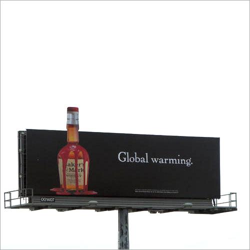 Outdoor Acrylic Glow Sign Board