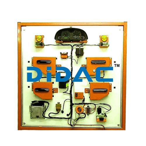 Alarm Immobilizer And Central Locking Training Unit