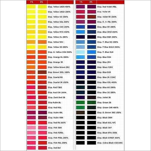Textile Disperse Dye