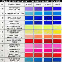 Fluoroscent Disperse Dyes