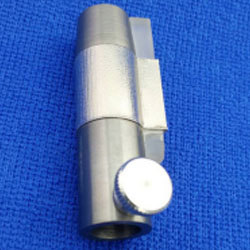 Syringe Shield with lead glass window: 007-909