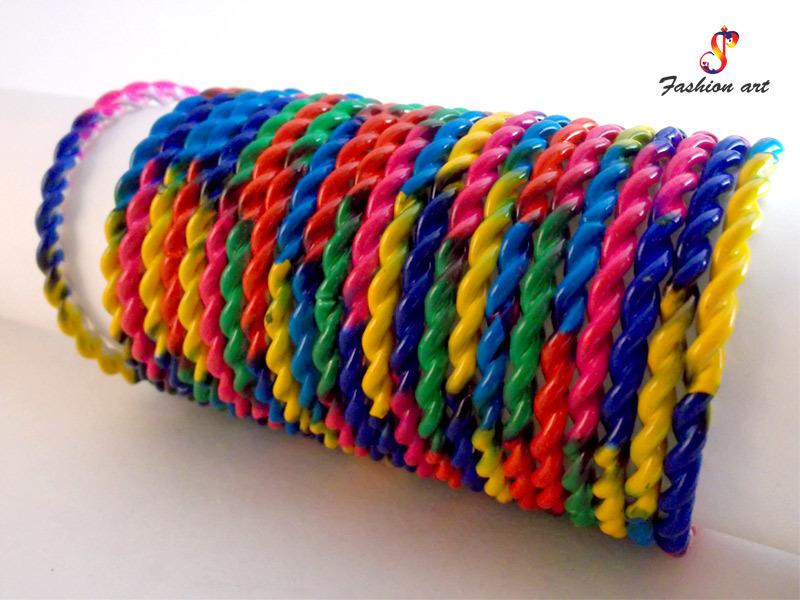 Dhamaka Halchal Multi Color Fancy Bangle