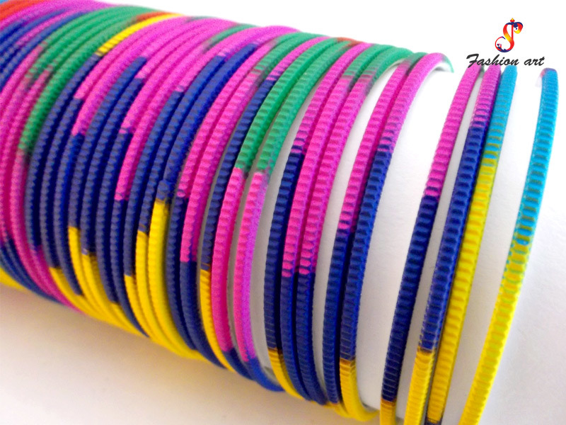 Neon 100 Metal Bangle