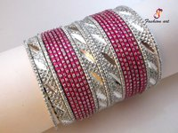 Fashion Aluminium Metal Bangle Set