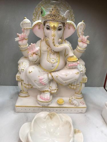 Buy online Marble Ganesh Statue