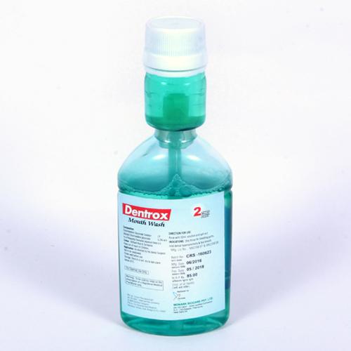 Chlorhexidine Mouth Wash in Special Neck Bottel