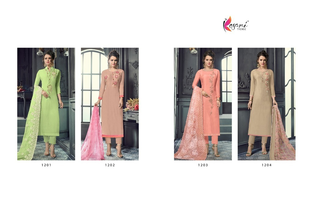 Latest Work Maslin Suits