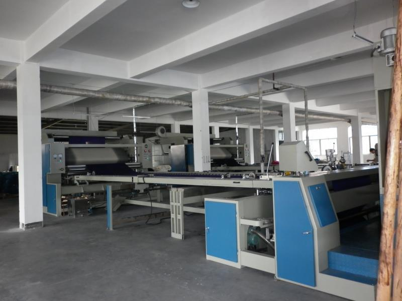Knitting Fabric Open Width Compactor Machine