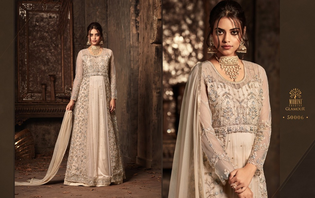 Party Wear Embroidery Suit Dress Material