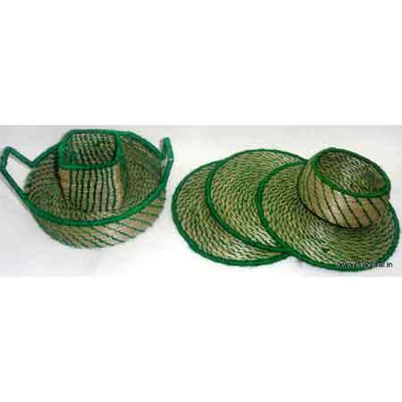 Eco -Friendly Sabai Grass Coasters & Trays
