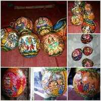 Hand painted Pattachitra Coconuts