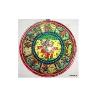 Hand painted Pattachitra Shields