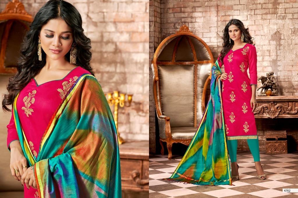 Banarasi Gota Patti Work Suit