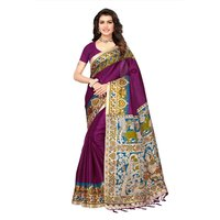 Latest Digital Printed Khadi Silk Saree