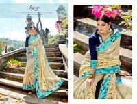 Latest Party Wear Designer Sarees