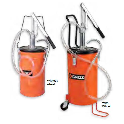 Bucket Oil Pumps