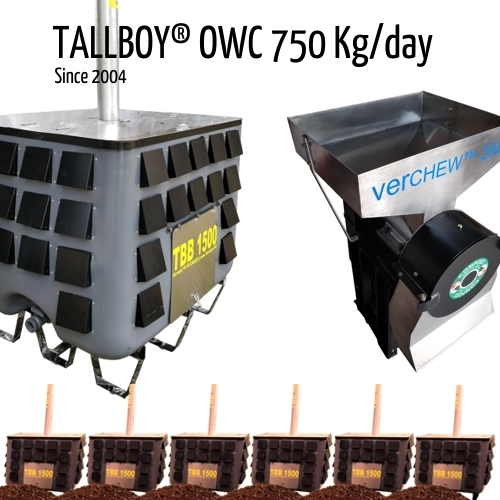 750 Kg Compost Making Machine