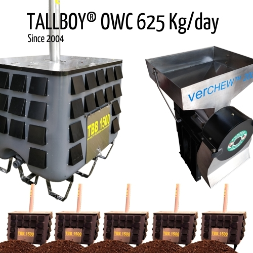 625 Kg Fully Automatic Composting Machine