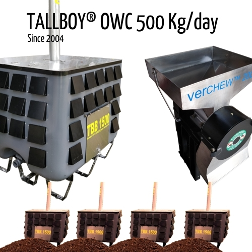 500 kg Automatic Composting Machine