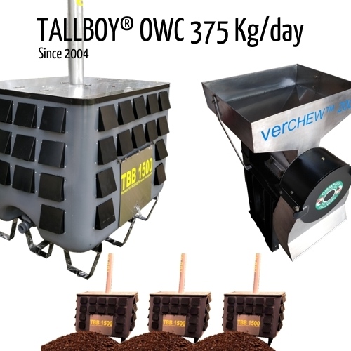 375 Kg Composting Machine