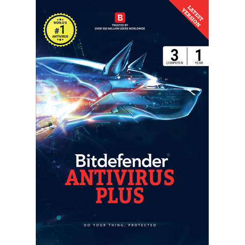 Bitdefender Antivirus 3 Devices 1 Year