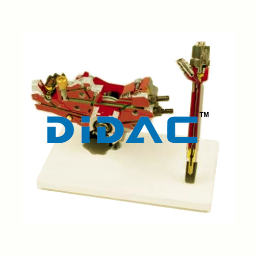 Common Rail High Pressure Pump With Fuel Delivery Regulation Valve And Injector