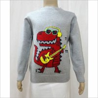 Intarsia Kid Sweater
